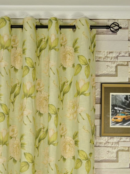 Asian Curtains by Cheery Curtains