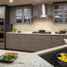 Contemporary Kitchen Cabinets by UBK, Inc.
