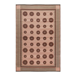 Koko Company - Koko Company Dots 4 x 6 ft. Indoor/Outdoor Floor Mat - K131 - Shop for Rugs and Runners from Hayneedle.com! Add some color to your living space - inside or out - with this Koko Company Dots 4 x 6 ft. Indoor/Outdoor Floor Mat. Choose the color combination you like then enjoy it in all sorts of spots around your home. It's made of sturdy polypropylene so it'll basically last a lifetime! Simply hose it off to clean and drip dry and keep it out of direct sunlight. If you use it indoors we recommend double-face carpet tape on the edges. Inside or out this rug will enliven your home. About The Koko CompanyFor over 10 years The Koko Company has been pouring heart and soul into bringing you a vibrant diverse collection of pieces to suit your unique style. From pillows and bedding to rugs and throws every piece is both versatile and distinctive each playing its own part in a grander global vision. Located in Long Island City NY but influenced and inspired by an array of cultures and fashions The Koko Company strives to bring the subtle elegance of natural fibers and organic design to your home accents.