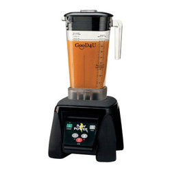 "GOOD4U - GooD4U Two Speed Raw Power 64oz 230 Volt Blender,18""H X 8.5""W X 8.25""D - GooD4U Two Speed Raw Power 64oz 230 Volt Blender is designed to handle the toughest ingredients. The 64 ounce container is made of BPA-Free Co polyester. Blade is made of stainless steel which can easily blend hard ingredients. The 45,000 variable speed motor provides the flexibility to prepare a large variety of smoothies, purees, soups and other concoctions easily and quickly. Delicious smoothies and frozen drinks can be made in record time."