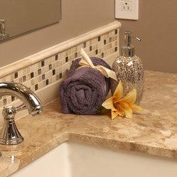 Traditional Bathroom Countertops