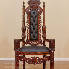 Modern Chairs Lion King Chair | Mahogany Furniture