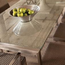 Contemporary Outdoor Tables by Lloyd Flanders