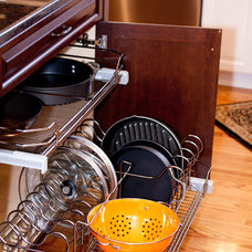 Traditional Cabinet And Drawer Organizers by Kitchens by Design Inc.
