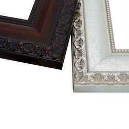 MirrorMate Mirror Frame in Bellemeade - For a traditional look that's always right, choose Bellemeade. The bead and scroll edges in rich finishes combine for a traditional look. This frame is a classic.