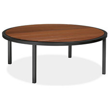 Montego Round Cocktail Tables in Graphite - Accent Tables - Outdoor - Room & Boa