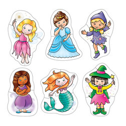 The Original Toy Company - The Original Toy Company Kids Children Play Fairy Tales - Discover a fantasy world with these six. two and three piece puzzles for the little fingers to complete.