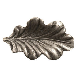 Anne at Home Hardware - Fancy Oak Leaf  Knob, Rust w/ Verde Wash - Made in the USA - Anne at Home customized cabinet hardware enables even the most discriminating homeowner to achieve the look of their dreams.  Because Anne at Home cabinet hardware is designed to meet your preferences, it may take up to 3-4 weeks to arrive at your door. But don't let that stop you - having customized Anne at Home cabinet knobs and pulls are well worth the wait!   - Available in many finishes.