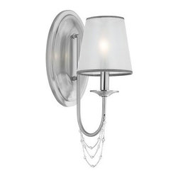 Murray Feiss - Murray Feiss WB1715 Aveline 1 Light Wall Sconce - Features: