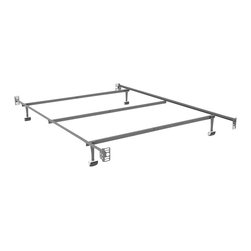 Sonax - Sonax Steel Bed Frame with Headboard & Footboard Attachment-Queen - Sonax - Bed Frames - BQ1130 - The sturdy steel construction of a Sonax Bed Frame ensures that your bed will have a sturdy foundation.