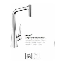 Hansgrohe - Hansgrohe - Metris HighArc Kitchen 2 Spray AZB - 14820001 - Chrome - Chrome Finish