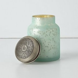 "Capri Blue - Capri Blue Candle-In-A-Jar - 70 hour burn timeWax, glass, brass18 oz5""H, 3"" diameterUSA"