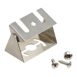 Kichler Landscape Lighting - Stainless Steel - Landscape 12V LED Accessory. Stainless steel easy mount bracket for use above ground on any surface - ideal for wood and masonry when used on decks, patios or overhangs.