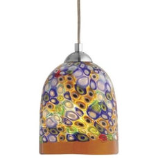 Pendant Lighting Fantasia Belle Klimt Multi Pendant by Oggetti Luce