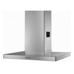 """Faber - STILIS48SS Designer Collection 48"""" Stilo Isola Island Mount Chimney Range Hood - The STILISxxSS Stilo Isola Island mount range hood is part of Faber39s Designer series of range hoods The 3 speed 600 CFM PRO internal blower will provide all the ventilation you will need for your kitchen The stainless steel baffle grease filters ar..."""
