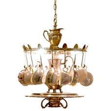 Eclectic Chandeliers by Knobstoppers