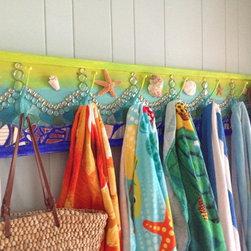 Custom Coat Rack/ Towel rack  Mosaic - Elly Ehrnst