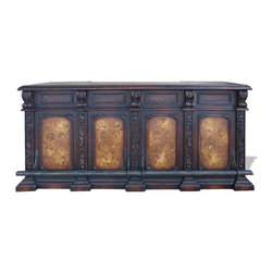 Bar Cologne, French Black Torched and Moss Foot Bar - Bar Cologne, French Black Torched and Moss Foot Bar