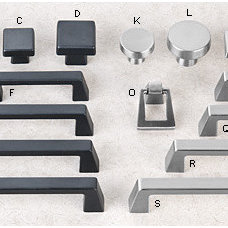 Cabinet And Drawer Knobs by Lee Valley Tools