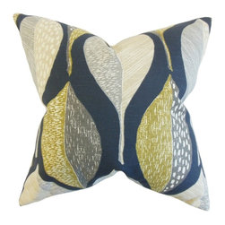 """The Pillow Collection - Valter Geometric Pillow 20"""" x 20"""" - This decor pillow exudes a refreshing aesthetic which makes it a great statement piece for your living space."""