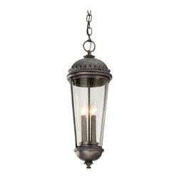 Troy Lighting - Ambassador 4-Light Outdoor Hanging Lantern - Ambassador 4-Light Outdoor Hanging Lantern