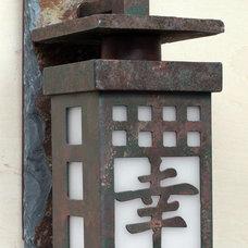 Asian Exterior by Kiva Lighting