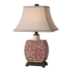 Uttermost - Uttermost 27473 Lindsa Ivory Table Lamp - Uttermost 27473 Lindsa Ivory Table Lamp