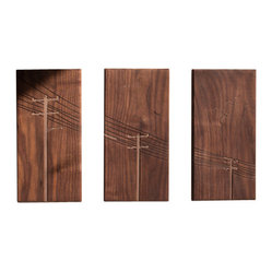 Powerpole Triptych Wall Art