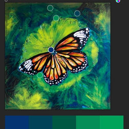Natural Hues for Tiger Monarch Butterfly - The Artwork Of Lovejoy is bright and lively, and amazingly works with just about any color scheme. Her work can be purchased in any size and finish you desire. Click the Link to explore. the art available by Lovejoy http://b-lovejoy.artistwebsites.com/galleries.html