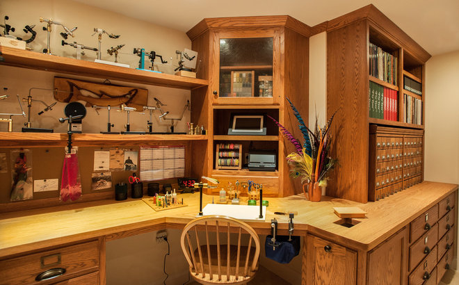 Fly Tying Room