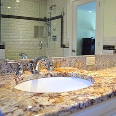 Traditional Bathroom by DiStefano Brothers Construction Inc.