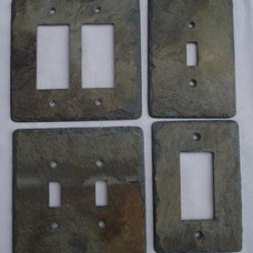 Eclectic Switch Plates And Outlet Covers Slate Switchplates