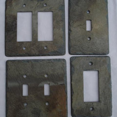 eclectic switchplates Slate Switchplates