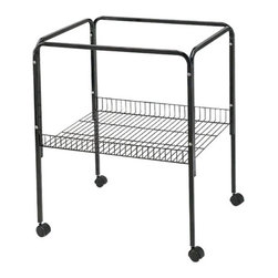 A and E Cage Co. - A and E Cage Co. Universal Stand for 18x14 in. & 18x18 in. Cages - AE18-ST BLACK - Shop for Bird Cages and Stands from Hayneedle.com! About A&E CageThis bird cage is designed and manufactured by A&E Cage Co. LLC. The company is a family-owned and family-operated bird cage company with over 30 years experience in the pet industry. Based in Burlington N.J. A&E Cage offers a wide selection of aviaries bird carriers and bird toys and numerous styles of bird cages to keep your pet birds happy and healthy.