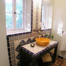 Mediterranean Bathroom by Nott & Associates