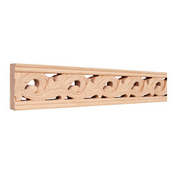 Hardware Resources - Basswood Traditional Mouldings - Crown moldings ease the transition from ceiling to wall. They add character and elegance to your room from the simple and traditional to the rich curves and flowers of the Renaissance designs. Give your room the finishing touch it deserves.