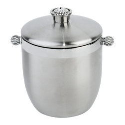 Alan Lee Collection - Princess Collection Ice Bucket - Don't let your ice be a melt down on your next party gathering. This stainless steel double wall ice bucket will keep your ice cold and dazzle your party guest in style.