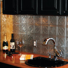 Contemporary Tile by American Tin Ceiling Company