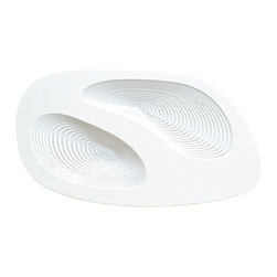 DESU DESIGN - DESU DESIGN Lithos Bowl - When was the last time you saw a bowl that was truly awe-inspiring? The design of this white acrylic bowl is modern innovation at its finest. Lose yourself in the spirals, but don't forget to fill your tummy!
