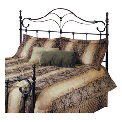 Hillsdale - Hillsdale Bennett Metal Headboard in Antique Bronze-Full/Queen - Hillsdale - Headboards - 1249490 - The Bennett Headboard is a surprising twist on a traditional Victorian style. With elongated finials organic ornamentation and a sense of flow as soft as a feather pillow this isn't your average old-fashioned bed. The Bennett will add a sense of gracious comfort to any bedroom whether classic or modern.