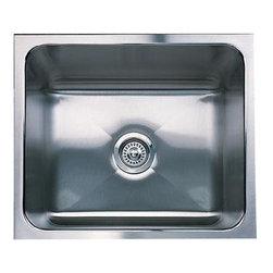 Blanco - Blanco BlancoMagnum Single Bowl Undermount Kitchen Sink, Stainless Steel - Blanco 501-116 BlancoMagnum Single Bowl Undermount Kitchen Sink, Stainless Steel