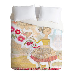Cori Dantini The Secret To Happiness Duvet Cover, Twin