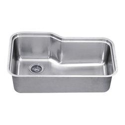 Dawn - Dawn Sinks Single Series Stainless Steel Undermount Sink - 304 Stainless Steel, 18/10 Chrome-Nickel