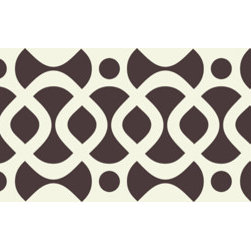Stencil Ease - Westlake Forge Border Stencil - Quickly and easily create ambience in your home with this Westlake Forge Border Stencil is detailed, laser-cut stencil is a professional designer's dream. Our laser-cutting produces crisp, clean smooth edges. We suggest you visit your local paint store for color ideas using contrasting colors or even trying a semi-gloss urethane (over a previously painted/stained surface) for a subtle effect.