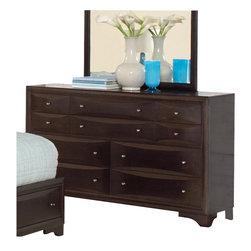 Coaster - Coaster Webster Dresser in Brown Maple Finish - Coaster - Dressers - 202493
