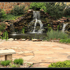 Traditional Outdoor Fountains And Ponds by Sturgis Material Inc