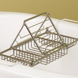 Reading Rack for Eubank Tub Caddy - Let the Reading Rack for the Eubank Tub Caddy hold your books or magazines as you relax after a long day.