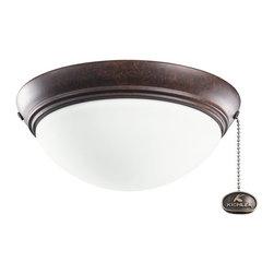 Kichler Lighting - Kichler Lighting Basic Low Profile 30-36 Ceiling Fan Light Kit X-ZT021083 - Kichler Lighting Basic Low Profile 30-36 Ceiling Fan Light Kit X-ZT021083