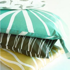 Contemporary Pillowcases And Shams by Design Public