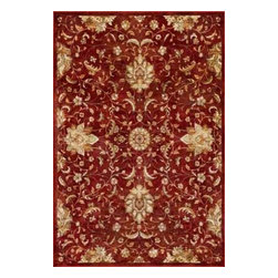 "Kas Rugs - Kas Versailles 8540 Red 3'3"" x 4'7"" Area Rugs - Kas Versailles 8540 Red 3'3"" x 4'7"" Area Rugs"